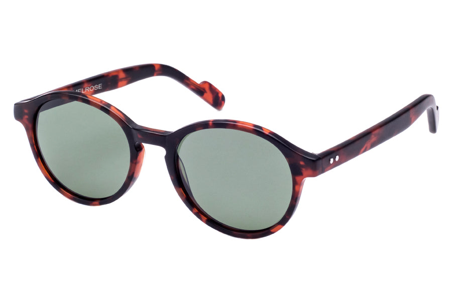 Crimson Visual : Melrose - Matte Havana Tortoise / G15 Polarized