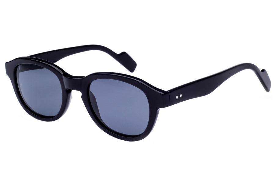 Crimson Visual : Atwater - Shiny Black / Smoke Polarized