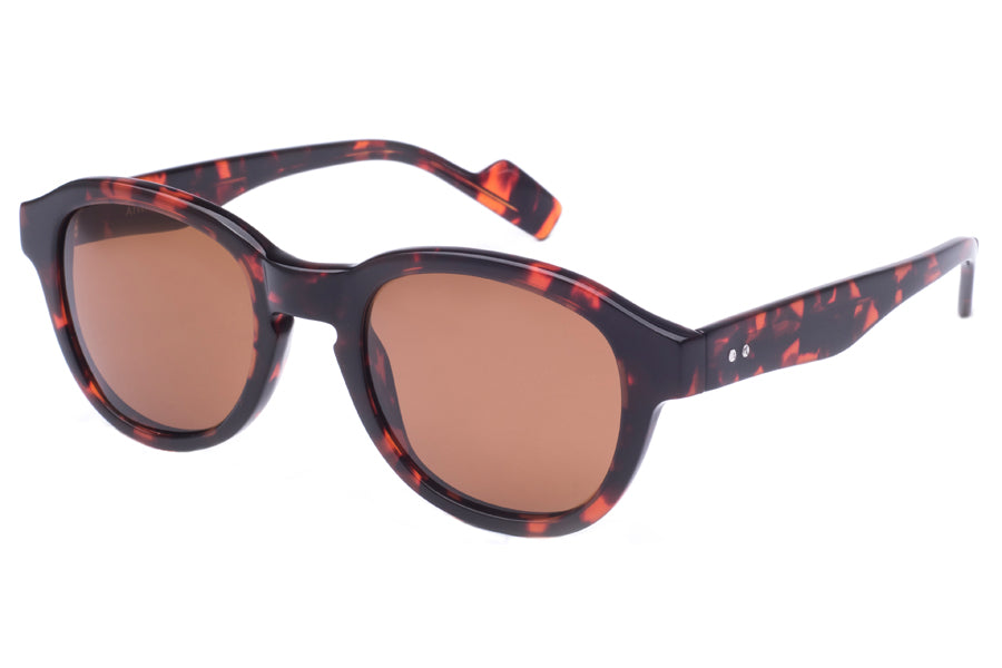 Crimson Visual : Atwater - Havana Tort / Brown Polarized