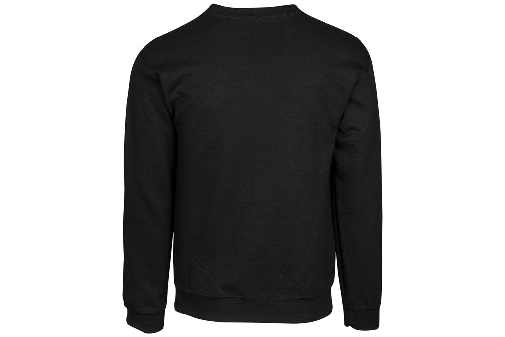 Black Crewneck Sweater Back