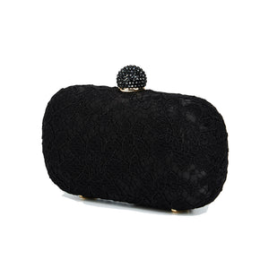 Carmen Lace Clutch in Black 3 | The Chic Initiative | Malaysian label of specially designed clutches, evening bags and minaudieres | Free shipping to Malaysia Singapore Brunei