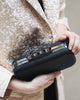 Florence Leather Clutch (Black)