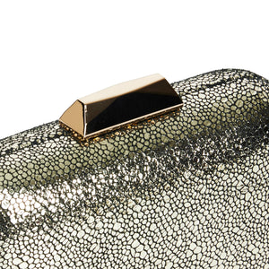 Nadia Leather Clutch in Gold 3 | The Chic Initiative | Malaysian label of specially designed clutches, evening bags and minaudieres | Free shipping to Malaysia Singapore Brunei