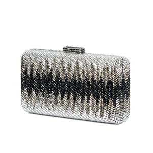 Nerissa Crystal Clutch in Black 4 | The Chic Initiative | Malaysian label of specially designed clutches, evening bags and minaudieres | Free shipping to Malaysia Singapore Brunei