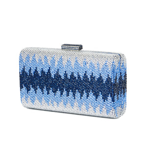 Nerissa Crystal Clutch in Blue 6 | The Chic Initiative | Malaysian label of specially designed clutches, evening bags and minaudieres | Free shipping to Malaysia Singapore Brunei