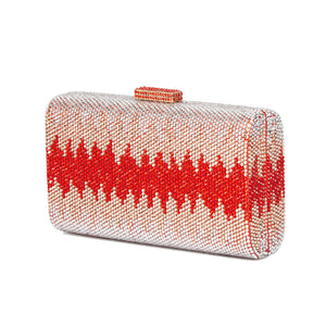 Nerissa Crystal Clutch in Red 6 | The Chic Initiative | Malaysian label of specially designed clutches, evening bags and minaudieres | Free shipping to Malaysia Singapore Brunei