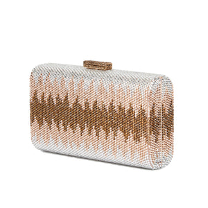 Nerissa Crystal Clutch in Rose Gold 6 | The Chic Initiative | Malaysian label of specially designed clutches, evening bags and minaudieres | Free shipping to Malaysia Singapore Brunei