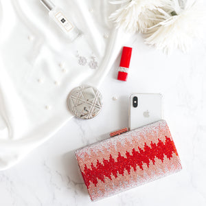 Nerissa Crystal Clutch in Red 8 | The Chic Initiative | Malaysian label of specially designed clutches, evening bags and minaudieres | Free shipping to Malaysia Singapore Brunei