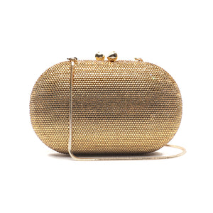 Raphael Crystal Clutch (Gold) 6 | The Chic Initiative | Malaysian label of specially designed clutches, evening bags and minaudieres | Free shipping to Malaysia Singapore Brunei