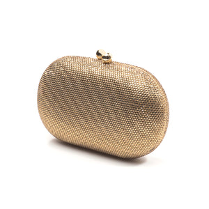 Raphael Crystal Clutch (Gold) 3 | The Chic Initiative | Malaysian label of specially designed clutches, evening bags and minaudieres | Free shipping to Malaysia Singapore Brunei