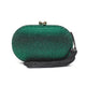 Raphael Crystal Clutch (Green) 1 | The Chic Initiative | Malaysian label of specially designed clutches, evening bags and minaudieres | Free shipping to Malaysia Singapore Brunei