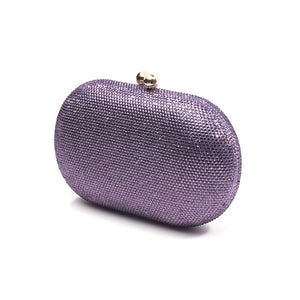 Raphael Crystal Clutch (Lilac) 3 | The Chic Initiative | Malaysian label of specially designed clutches, evening bags and minaudieres | Free shipping to Malaysia Singapore Brunei