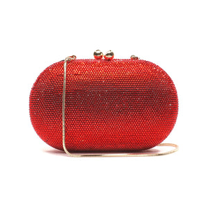 Raphael Crystal Clutch (Red) 6 | The Chic Initiative | Malaysian label of specially designed clutches, evening bags and minaudieres | Free shipping to Malaysia Singapore Brunei