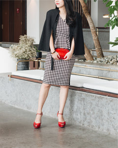 Raphael Crystal Clutch (Red) 9 | The Chic Initiative | Malaysian label of specially designed clutches, evening bags and minaudieres | Free shipping to Malaysia Singapore Brunei
