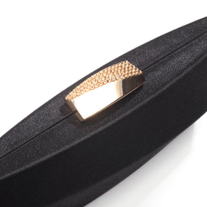Sandro Satin Clutch (Black) 6 | The Chic Initiative | Malaysian label of specially designed clutches, evening bags and minaudieres | Free shipping to Malaysia Singapore Brunei