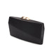 Sandro Satin Clutch (Black) 3 | The Chic Initiative | Malaysian label of specially designed clutches, evening bags and minaudieres | Free shipping to Malaysia Singapore Brunei