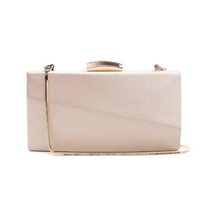 Sandro Satin Clutch (Rose Gold) 1 | The Chic Initiative | Malaysian label of specially designed clutches, evening bags and minaudieres | Free shipping to Malaysia Singapore Brunei