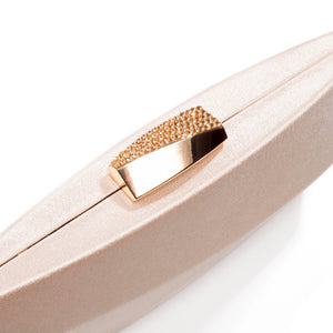 Sandro Satin Clutch (Rose Gold) 6 | The Chic Initiative | Malaysian label of specially designed clutches, evening bags and minaudieres | Free shipping to Malaysia Singapore Brunei