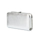 Sofia Metallic Clutch in Silver 6 | The Chic Initiative | Malaysian label of specially designed clutches, evening bags and minaudieres | Free shipping to Malaysia Singapore Brunei