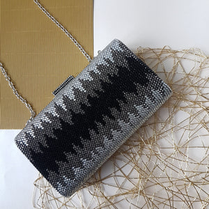Nerissa Crystal Clutch in Black 5 | The Chic Initiative | Malaysian label of specially designed clutches, evening bags and minaudieres | Free shipping to Malaysia Singapore Brunei