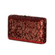 Tosca Sequin Clutch in Red 6 | The Chic Initiative | A label of specially designed clutches, evening bags and minaudieres | Free shipping to Malaysia Singapore Brunei