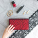 Tosca Sequin Clutch in Red 7 | The Chic Initiative | A label of specially designed clutches, evening bags and minaudieres | Free shipping to Malaysia Singapore Brunei