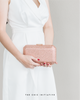 Veralyn Crystal Clutch (Rose Gold)