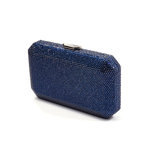 Veralyn Crystal Clutch (Midnight Blue) 6 | The Chic Initiative | Malaysian label of specially designed clutches, evening bags and minaudieres | Free shipping to Malaysia Singapore Brunei