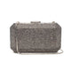 Veralyn Crystal Clutch (Pewter) 1 | The Chic Initiative | Malaysian label of specially designed clutches, evening bags and minaudieres | Free shipping to Malaysia Singapore Brunei
