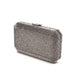 Veralyn Crystal Clutch (Pewter) 6 | The Chic Initiative | Malaysian label of specially designed clutches, evening bags and minaudieres | Free shipping to Malaysia Singapore Brunei