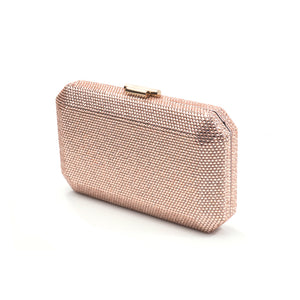 Veralyn Crystal Clutch (Rose Gold) 6 | The Chic Initiative | Malaysian label of specially designed clutches, evening bags and minaudieres | Free shipping to Malaysia Singapore Brunei