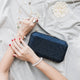 Veralyn Crystal Clutch (Midnight Blue) 7 | The Chic Initiative | Malaysian label of specially designed clutches, evening bags and minaudieres | Free shipping to Malaysia Singapore Brunei