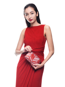 Zig Zag Crystal Clutch in Red 6 | The Chic Initiative | Malaysian label of specially designed clutches, evening bags and minaudieres | Free shipping to Malaysia Singapore Brunei
