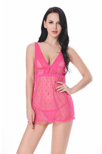 hot-pink-honeymoon-nighty-with-sexy-thong