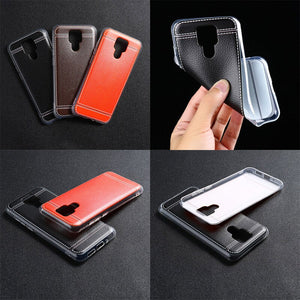 Leather style TPU case for Ulefone Power 6