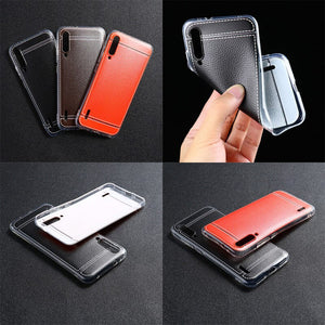 Leather style TPU case for Xiaomi Mi A3