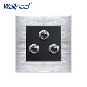 Interruptores pared Wallpad de 3 botones