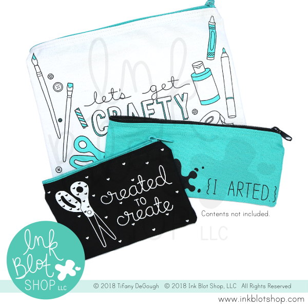 Created To Create :: Zipper Pouch