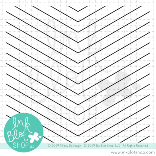 Big Angle Background :: 6x6 Clear Stamp