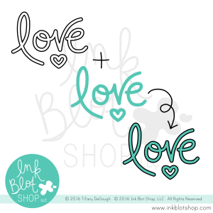 Big Words (Solid) :: 4x6 Clear Stamp Set
