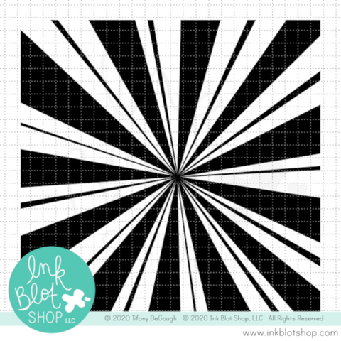 Burst Background :: 6x6 Clear Stamp