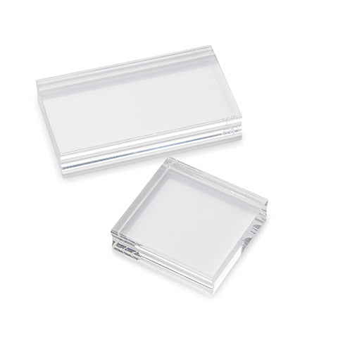 Clear (Acrylic) Stamp Mounting Blocks