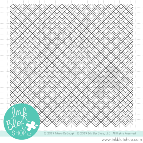 Diamond Deco Background :: 6x6 Clear Stamp Set