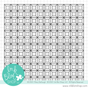 Dimensional Blocks Background :: 6x6 Clear Stamp