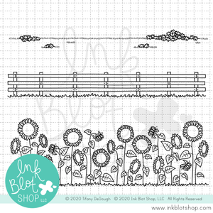 Fallish Borders :: 4x6 Clear Stamp Set