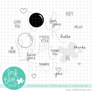 Flair Greetings :: 3x4 Clear Stamp Set