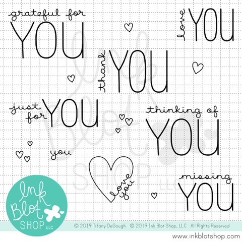 Greetings To You :: 4x6 Clear Stamp Set