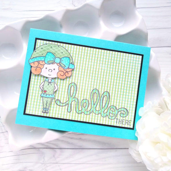 Snow Kids :: 4x4 Clear Stamp Set