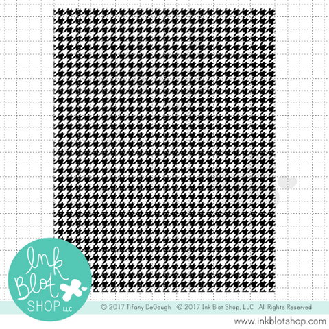Houndstooth Background :: 5x6 Clear Stamp