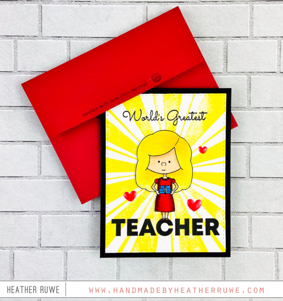 Little School :: 6x8 Clear Stamp Set
